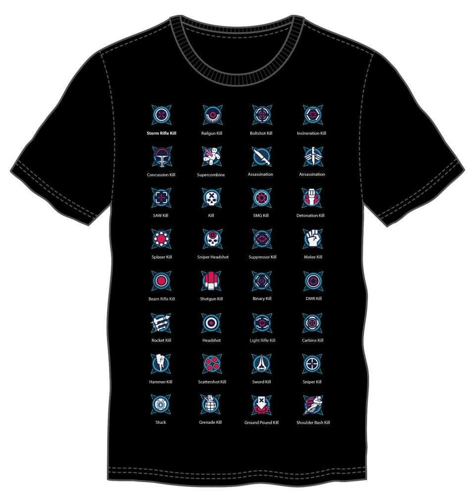 Halo 5 T-Shirt So Many Skills So Little Time Size S
