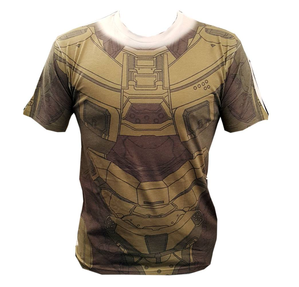 Halo 5 T-Shirt Master Chief Cosplay Sublimation Size XL