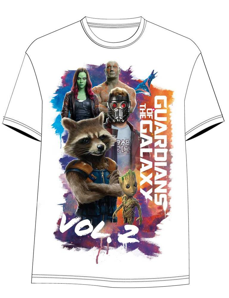 Guardians of the Galaxy Vol. 2 Sublimation T-Shirt The Crew Size L