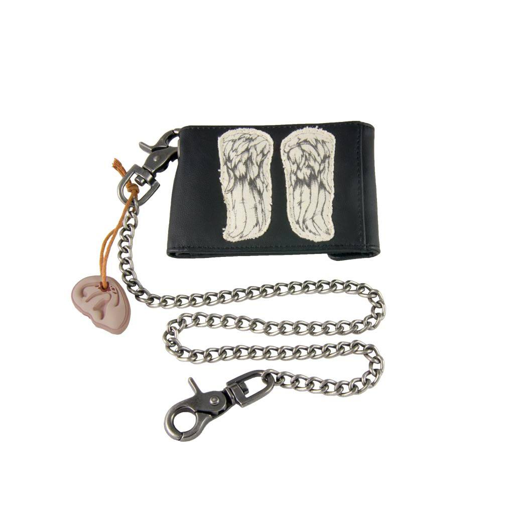 The Walking Dead Chain Wallet Daryl Wings