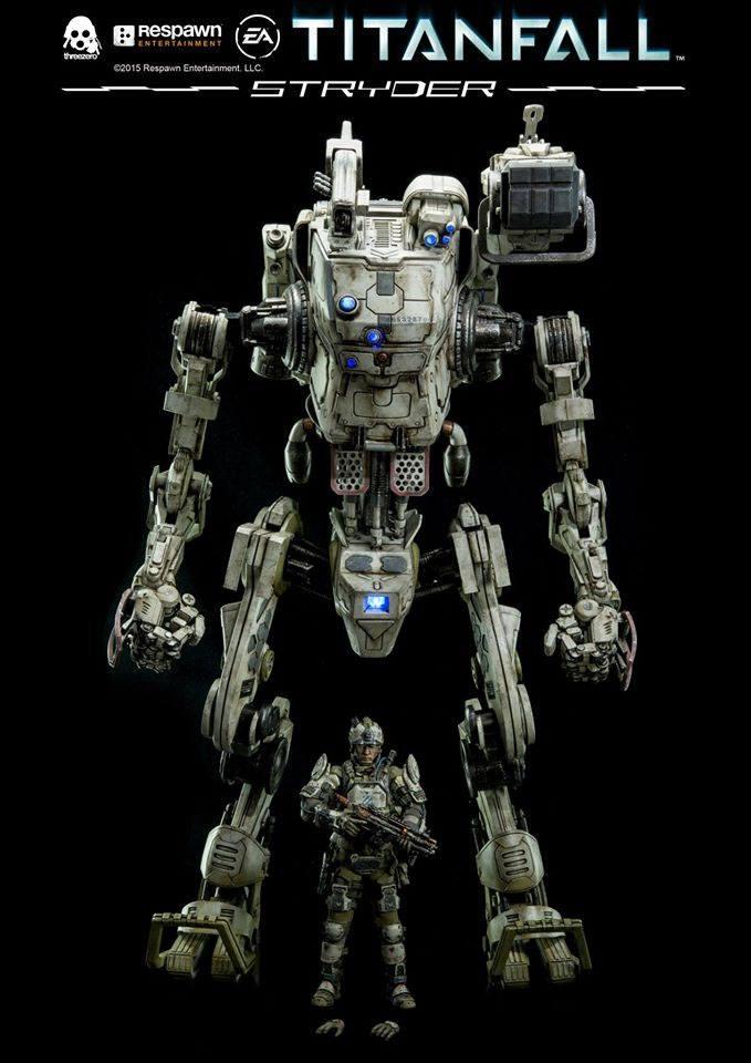 Titanfall Action Figure IMC Stryder 51 cm