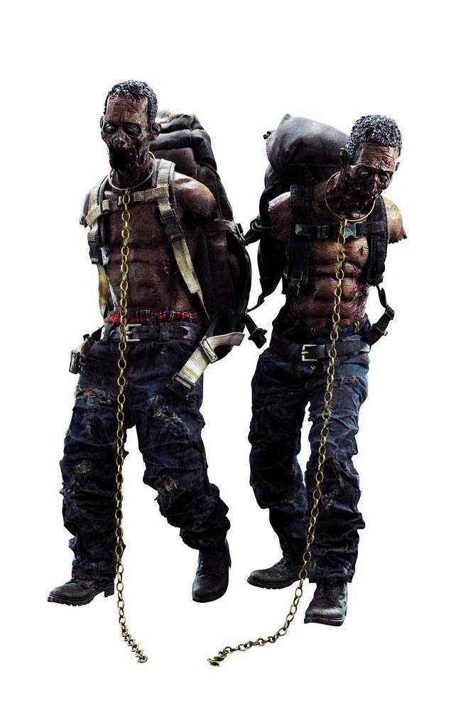 The Walking Dead Action Figures 1/6 Michonne´s Pet Walker Twin Pack 30 cm