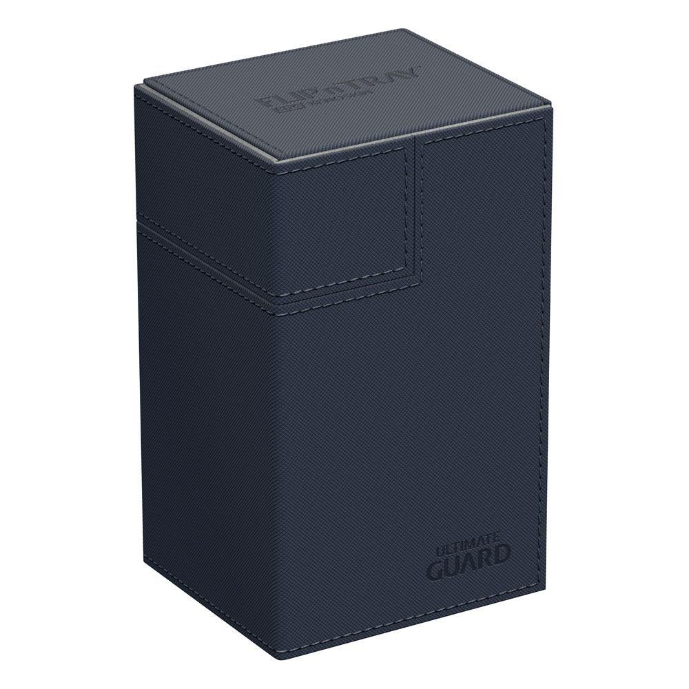 Ultimate Guard Flip´n´Tray  Deck Case 80+ Standard Size XenoSkin Blue