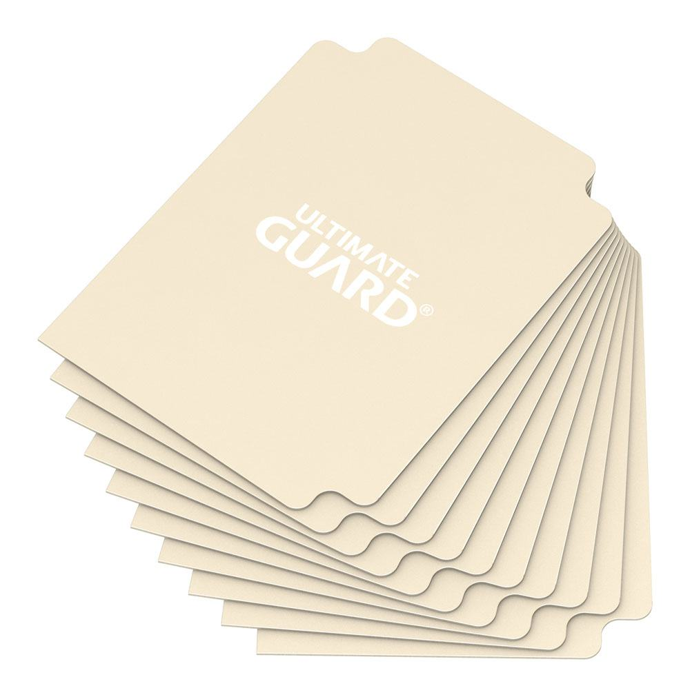 Ultimate Guard Card Dividers Standard Size Sand (10)