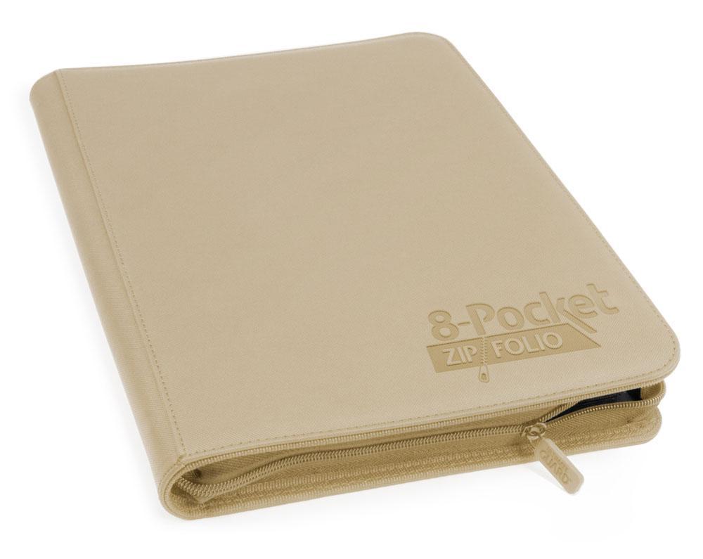 Ultimate Guard 8-Pocket ZipFolio XenoSkin Sand