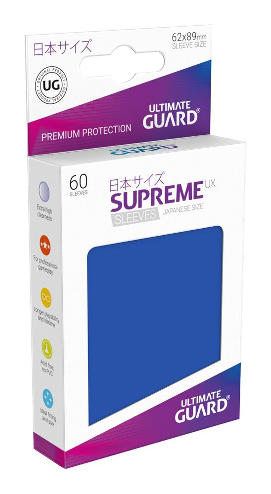 Ultimate Guard Supreme UX Sleeves Japanese Size Blue (60)