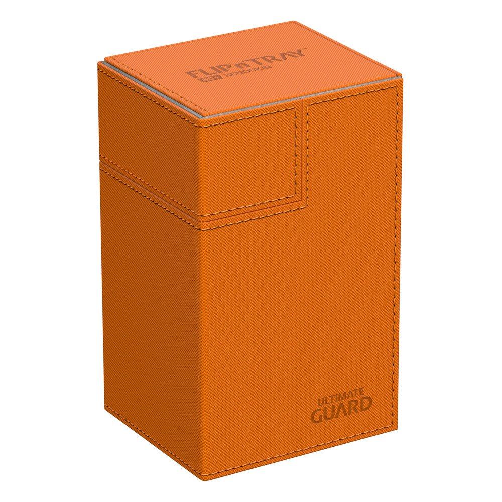 Ultimate Guard Flip´n´Tray  Deck Case 80+ Standard Size XenoSkin™ Orange