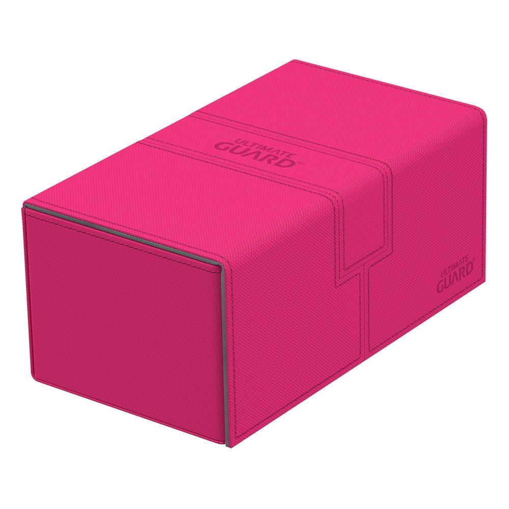Ultimate Guard Twin Flip´n´Tray  Deck Case 200+ Standard Size XenoSkin™ Pink