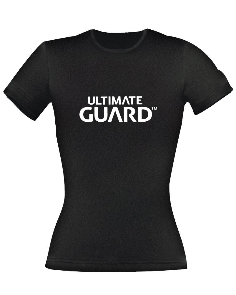 Ultimate Guard Ladies T-Shirt Wordmark Black Size S