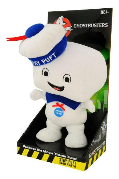 Ghostbusters Talking Plush Figure Stay Puft Marshmallow Man Happy 23 cm *English Version*