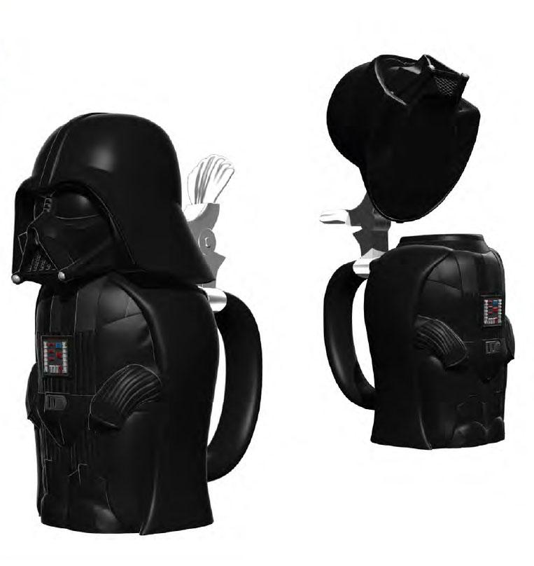 Star Wars Beer Stein Darth Vader 25 cm