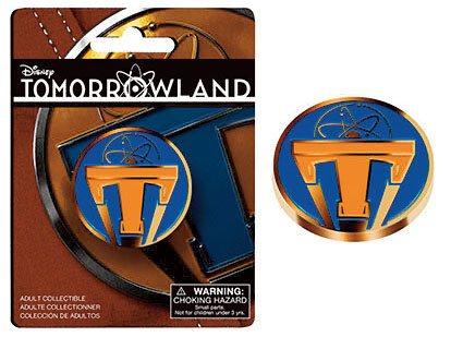 Tomorrowland Pin Badge Gold T Logo