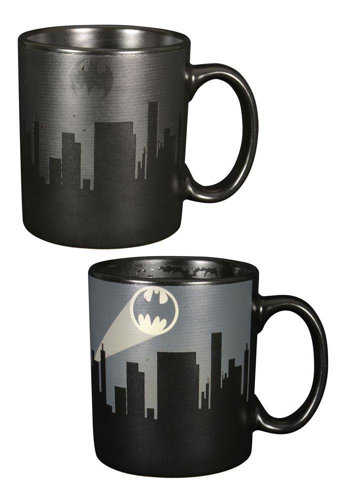 Batman Heat Change Mug Dark Logo