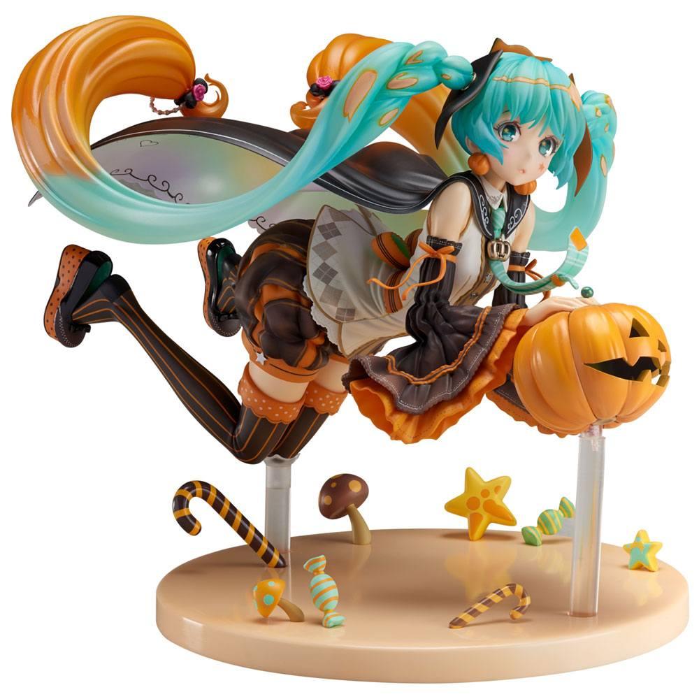 Vocaloid PVC Statue Trick or Miku 17 cm