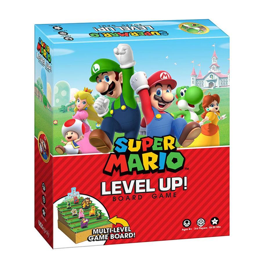 Super Mario Boardgame Level Up