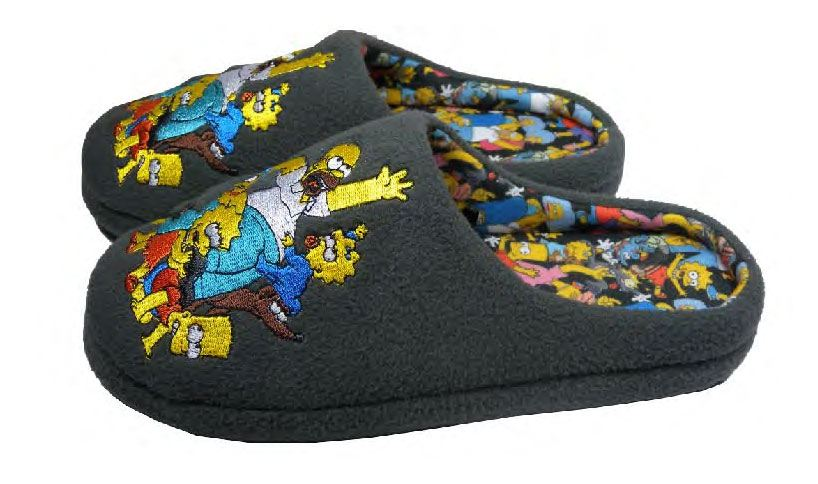 Simpsons Slippers Characters Size M