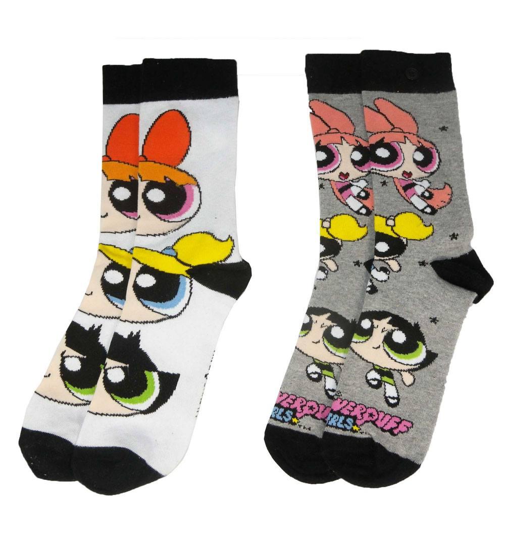Powerpuff Girls Ladies Socks 2-Pack