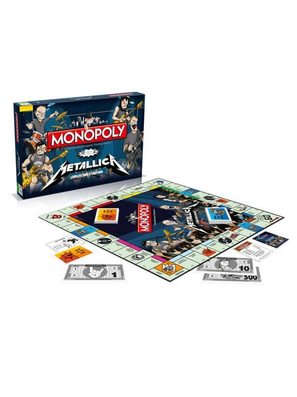 Metallica Board Game Monopoly *English Version*