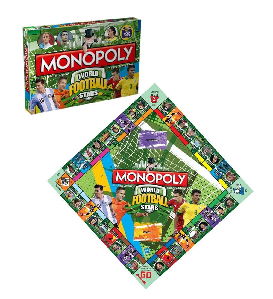 World Football Stars Board Game Monopoly *English Version*