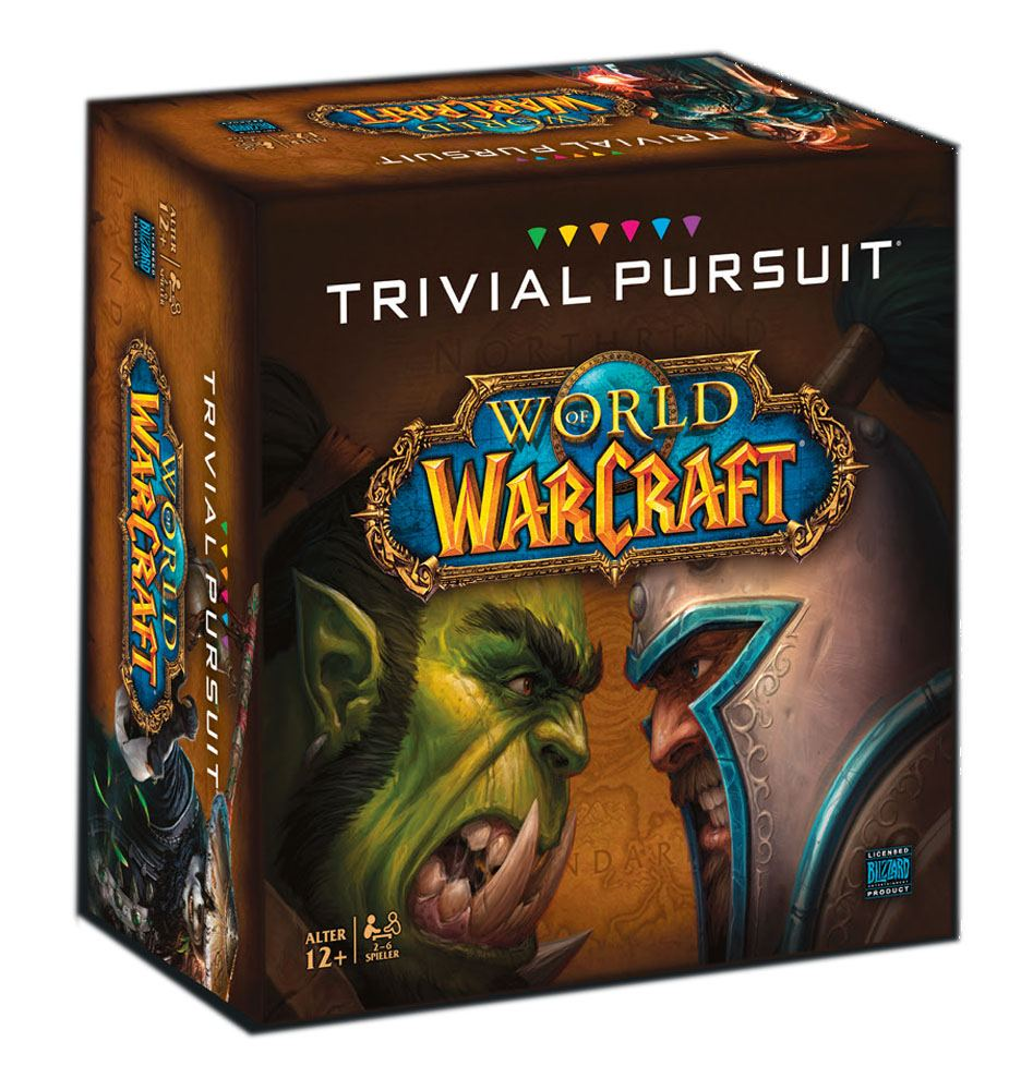 World of Warcraft Board Game Trivial Pursuit *German Version*
