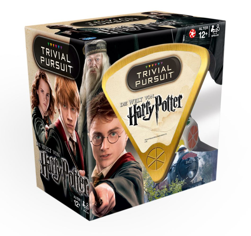 Harry Potter Board Game Trivial Pursuit *German Version*