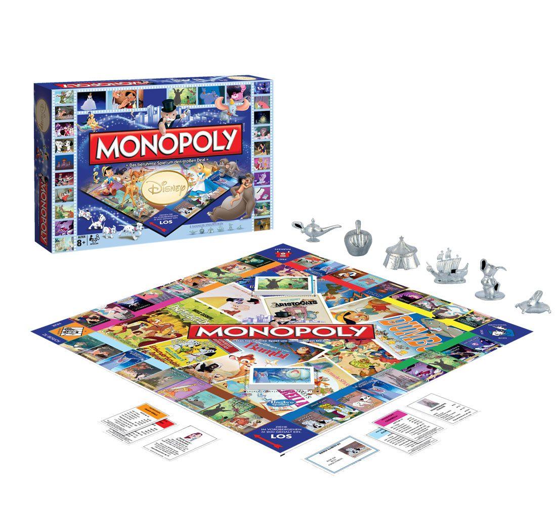 Disney Classic Board Game Monopoly *German Version*