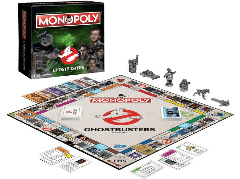 Ghostbusters Board Game Monopoly *German Version*