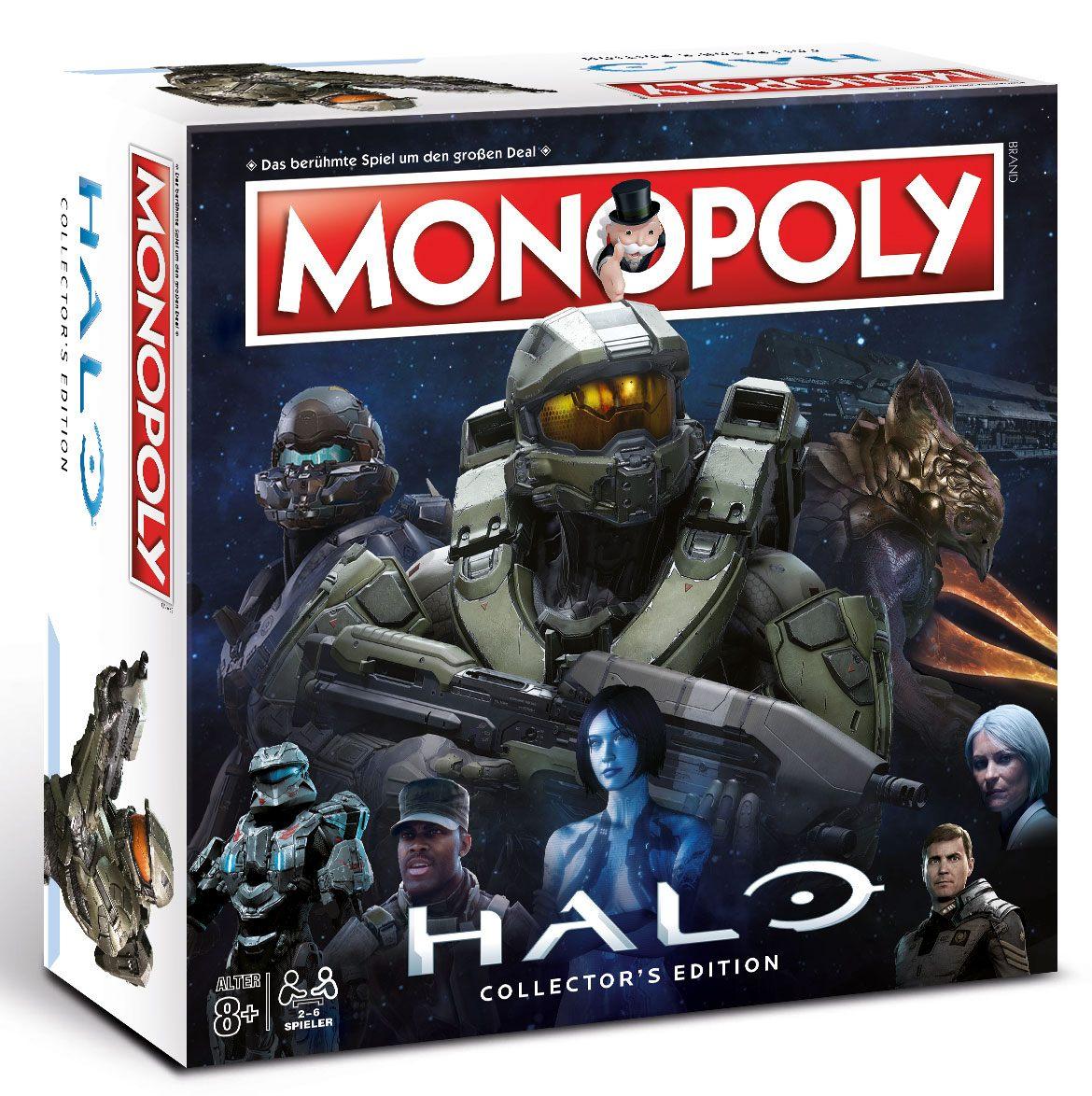Halo Board Game Monopoly *German Version*
