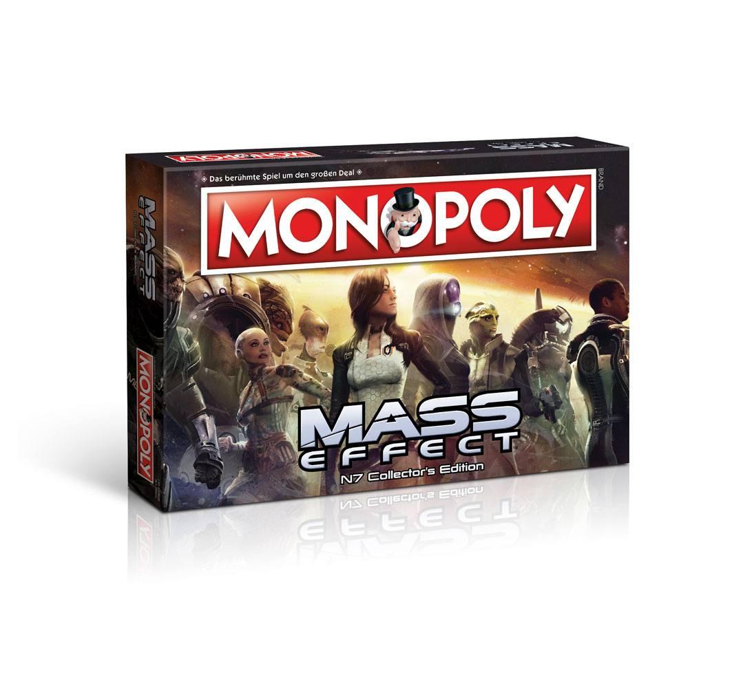 Mass Effect Board Game Monopoly *German Version*