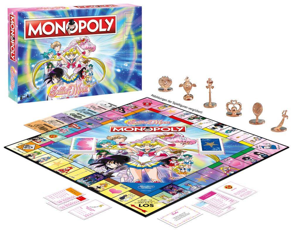 Sailor Moon Board Game Monopoly *German Version*