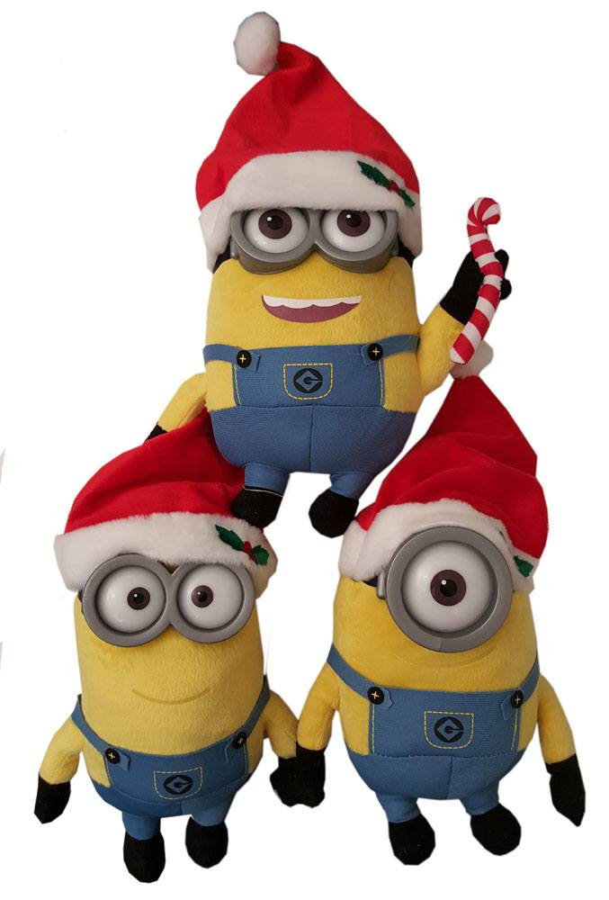 Minions Plush Figures Christmas 22 cm Assortment (6)