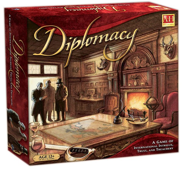 Avalon Hill Board Game Diplomacy english