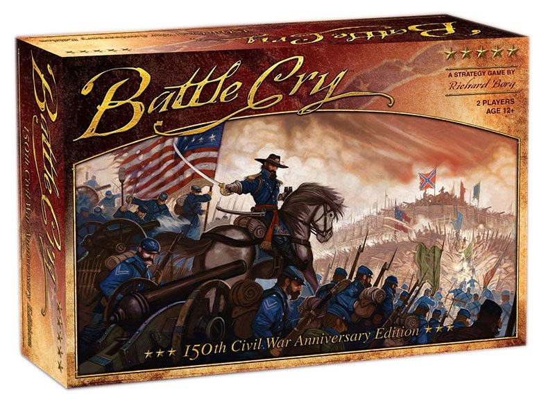Avalon Hill Board Game Battle Cry english