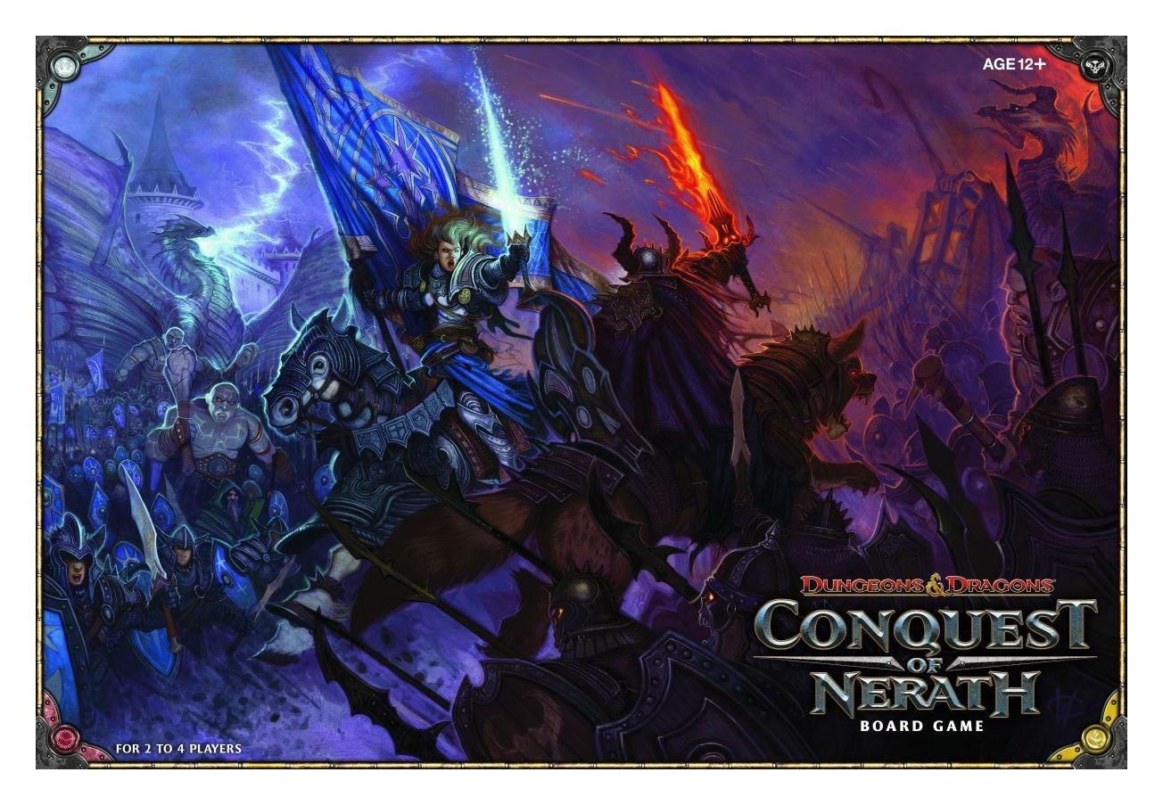 Dungeons & Dragons Board Game Conquest of Nerath english
