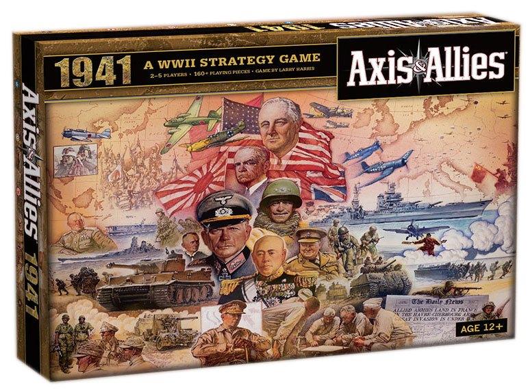 Avalon Hill Board Game Axis & Allies 1941 english
