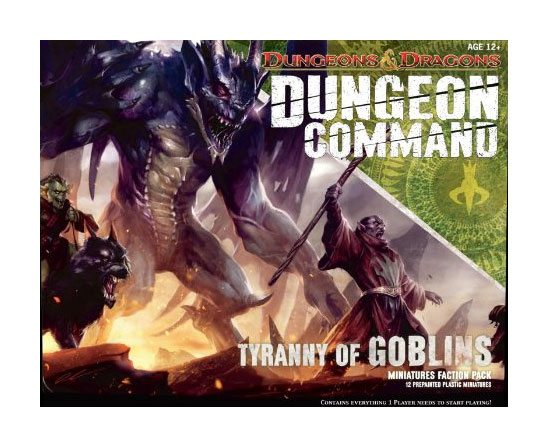 Dungeons & Dragons Dungeon Command Miniaturen Faction Pack Tyranny of Goblins englisch