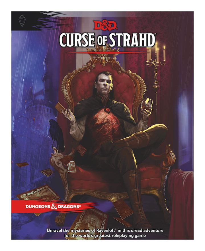 Dungeons & Dragons RPG Adventure Curse of Strahd english