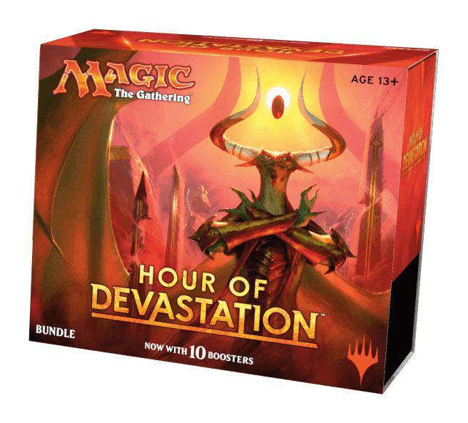 Magic the Gathering Hour of Devastation Bundle english