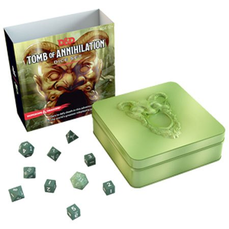 Dungeons & Dragons RPG Adventure Tomb of Annihilation Dice Set english