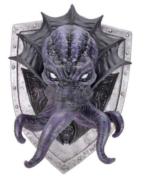 Dungeons & Dragons Trophy Plaque Mind Flayer (Foam Rubber/Latex) 81 cm