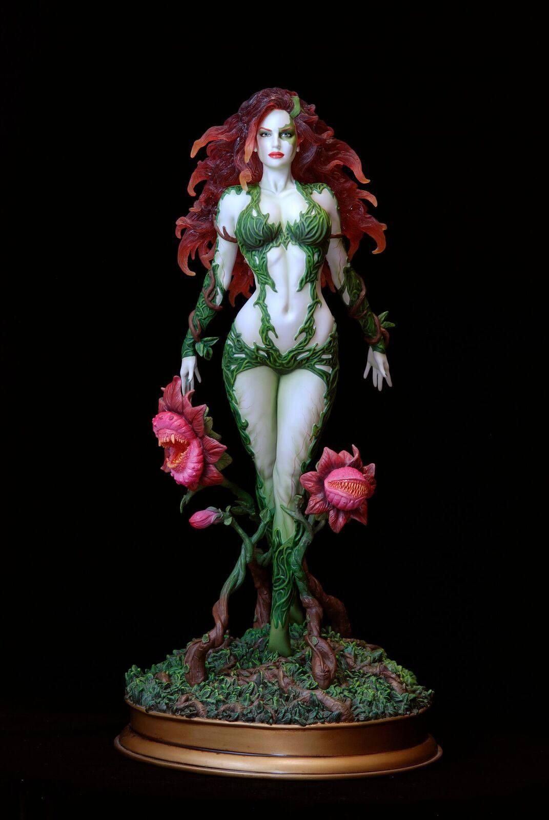 DC Comics Fantasy Figure Gallery Statue 1/6 Poison Ivy (Luis Rojo) Web Exclusive 43 cm