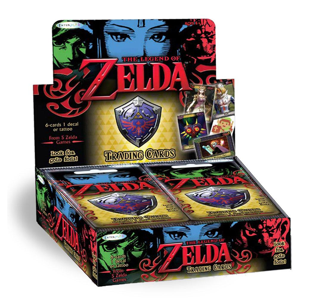 Legend of Zelda Trading Cards Booster Display (24) *English Version*