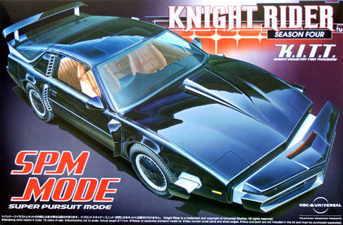 Knight Rider Plastic Modelkit 1/24 K.I.T.T. SPM Mode Season 4