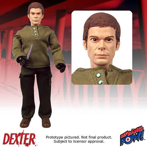 Dexter Retro Action Figure Dexter Morgan 20 cm