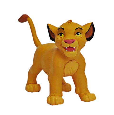 The Lion King Figure Simba Baby 4,6 cm