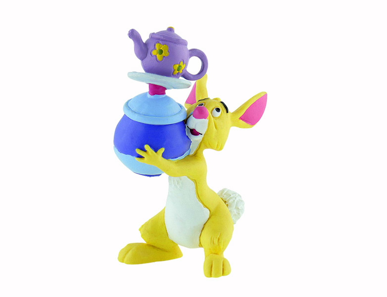 Winnie The Pooh Figure Rabbit with Pots 8 cm