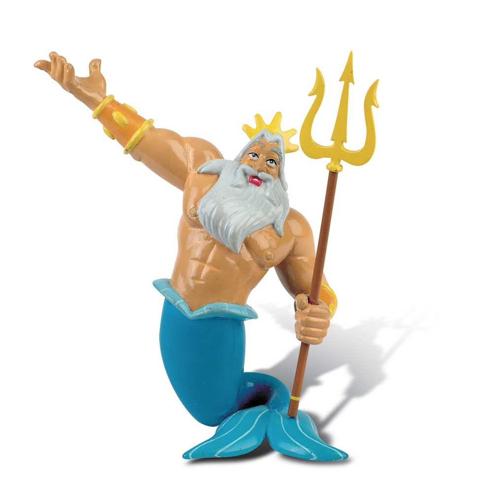 The Little Mermaid Figure King Triton 10 cm