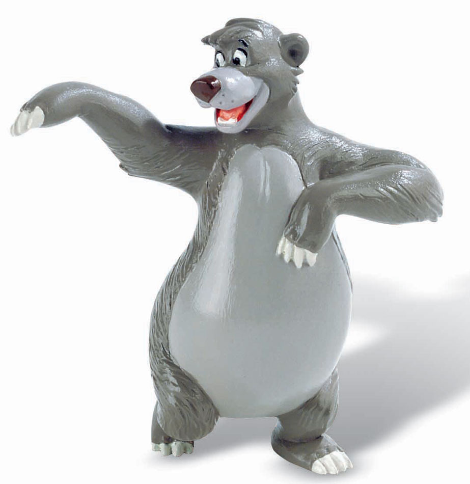 The Jungle Book Figure Baloo 8 cm