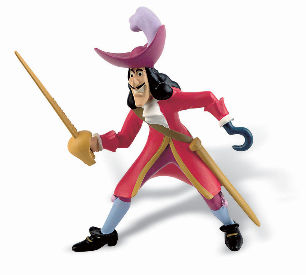 Peter Pan Figure Captain Hook 10 cm
