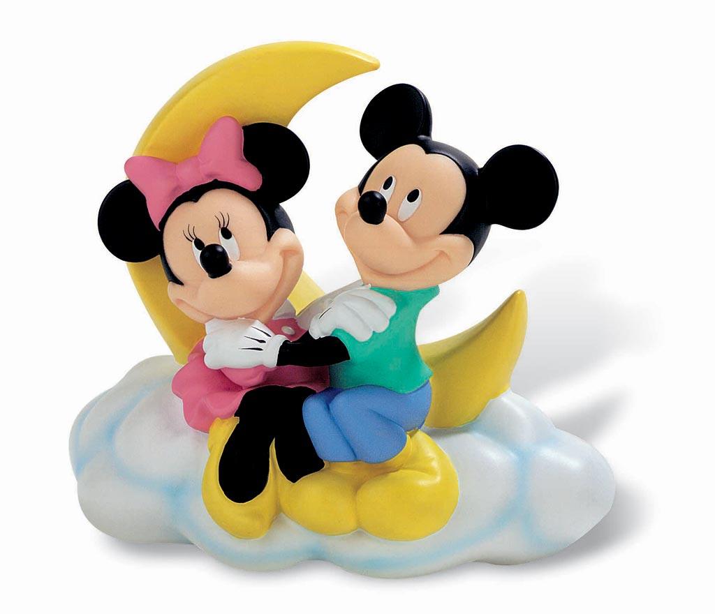 Disney Figure Bank Mickey & Minnie 18 cm